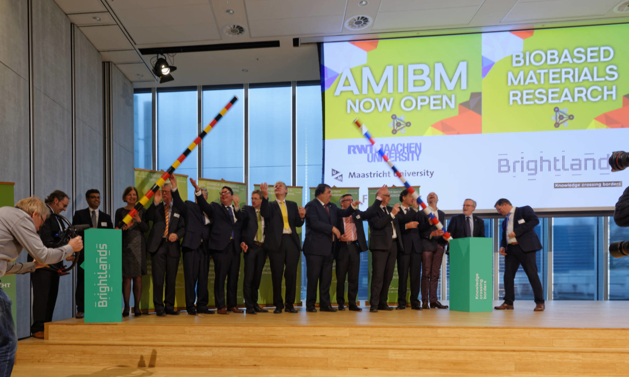 AMIBM labs officially opened - Agro & Chemistry