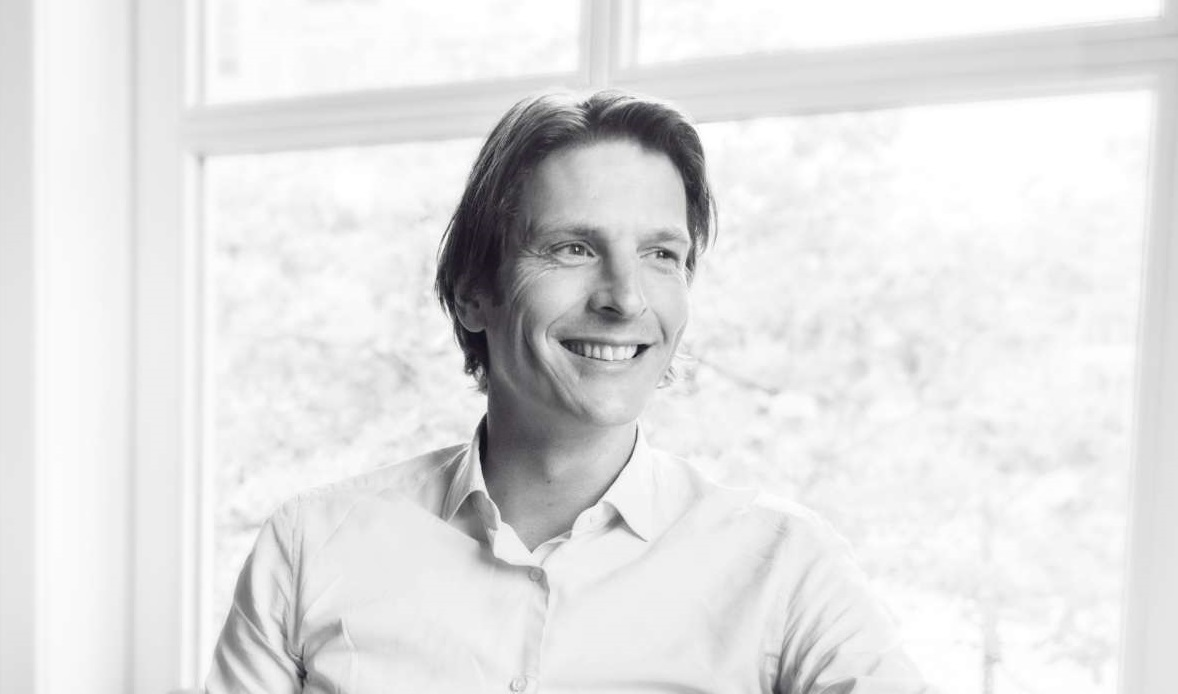 Guus Verhees Portretfoto Zwart wit