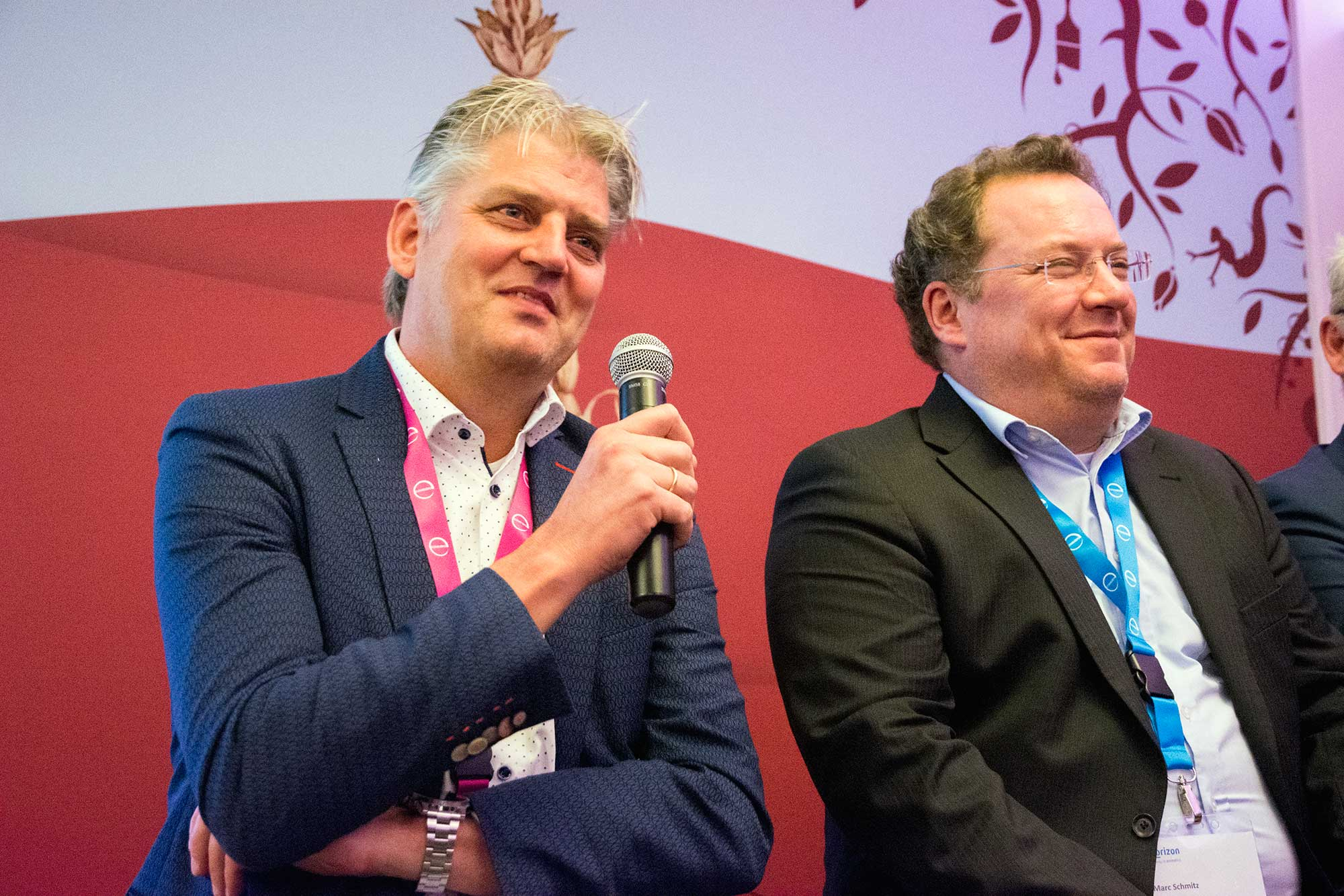 Bert van de Beld and Marc Schmitz on the 5th Biorizon event