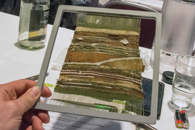 Textile from algae