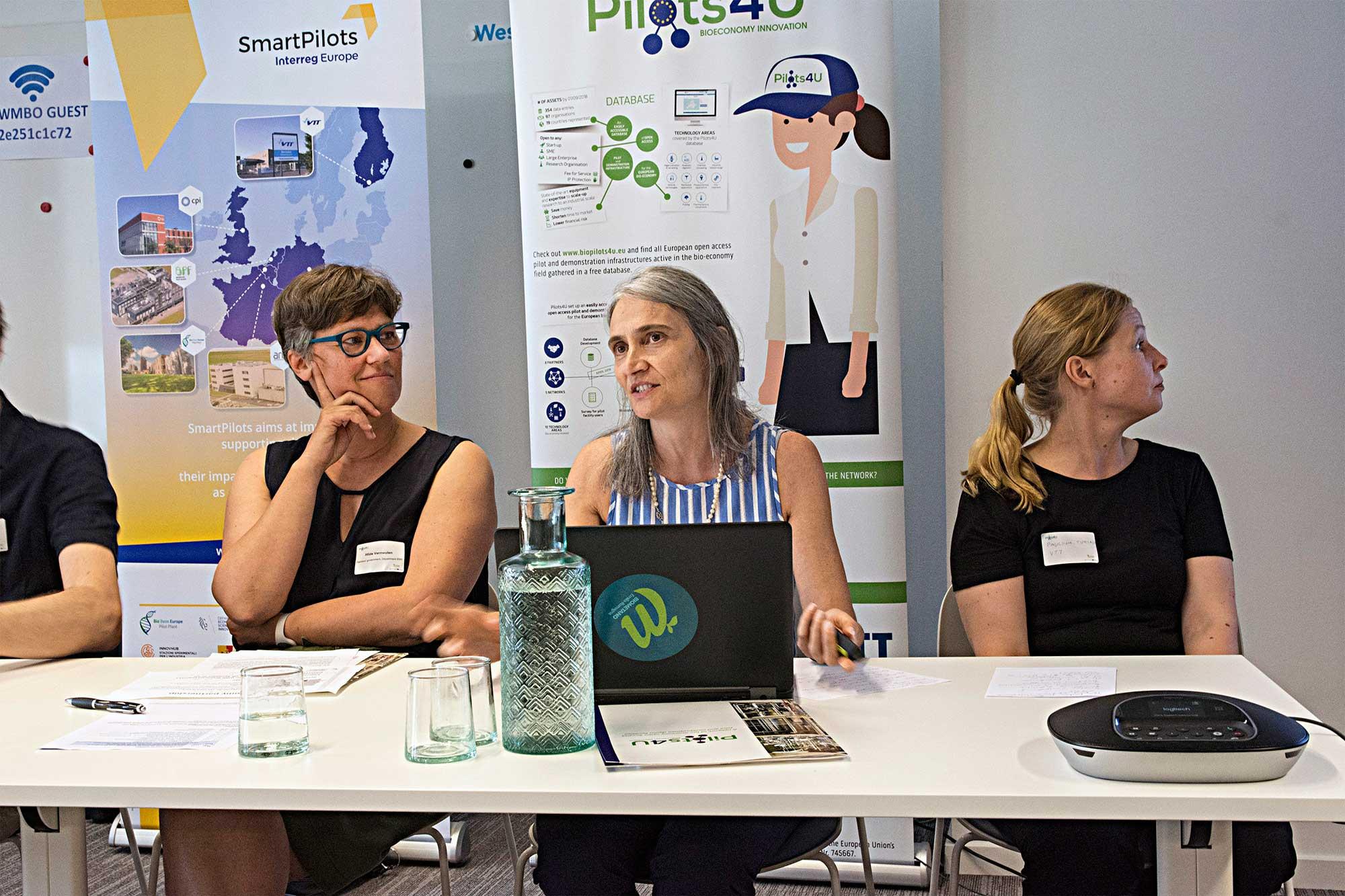 Hilde Vermeulen, Daniela Sani and Pauliina Tukiainen