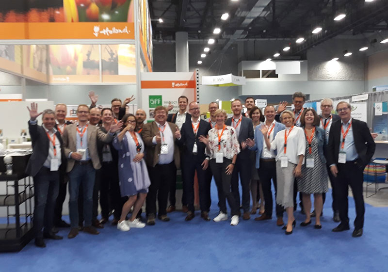 Group photo Dutch delegation WCIB 2019
