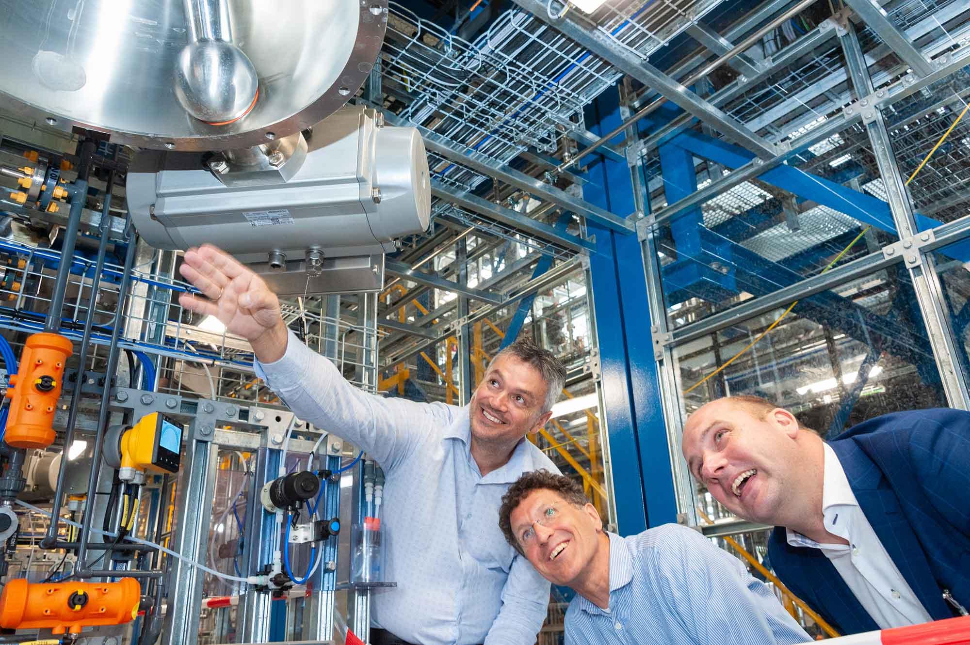 Opening pilot plant Avantium