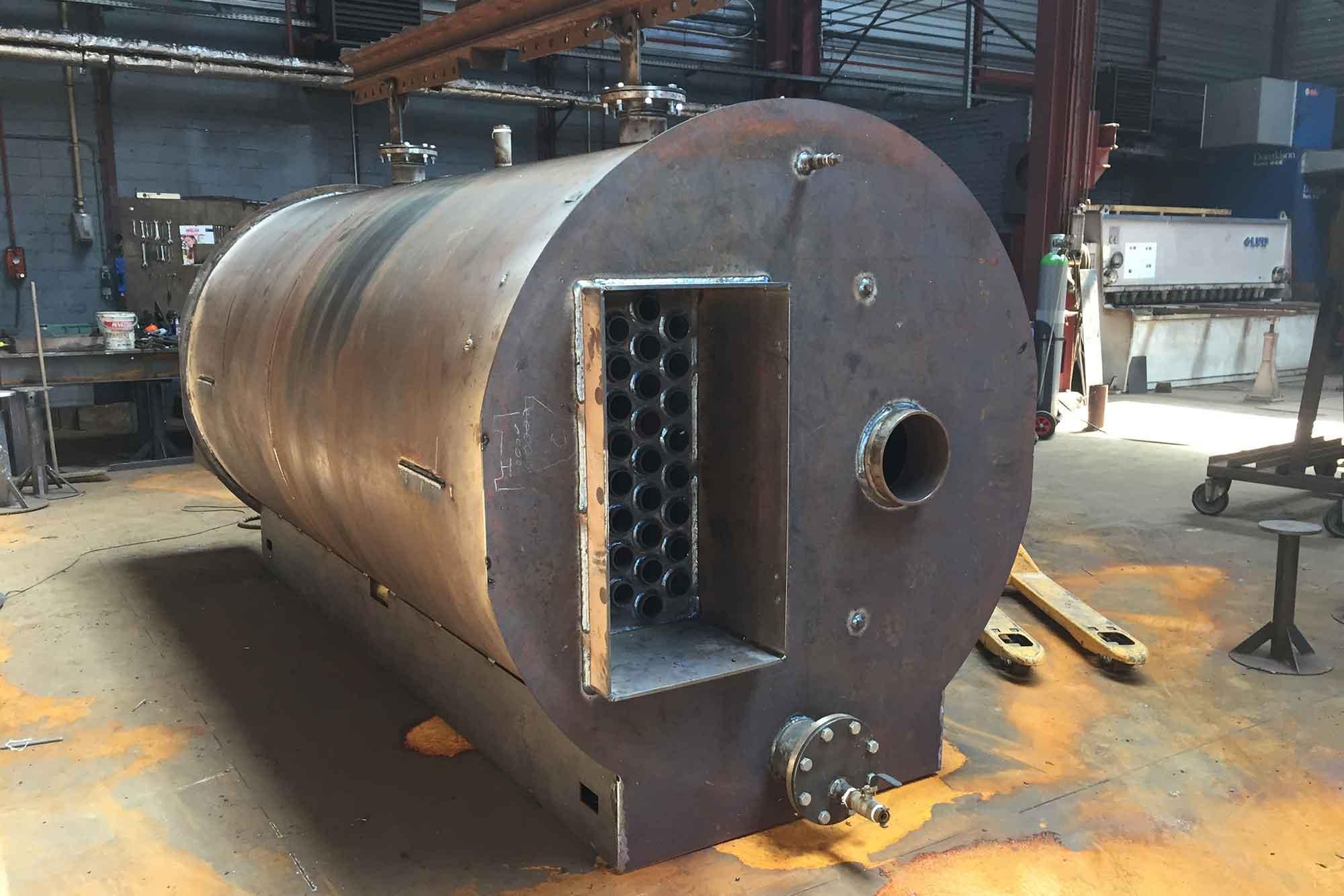 Boiler for biomethane