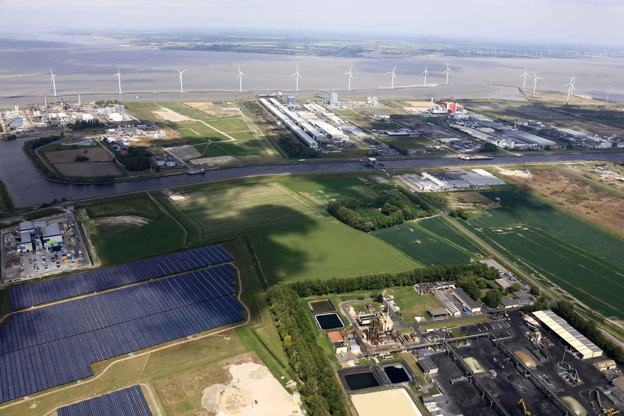 Industrial area Delfzijl
