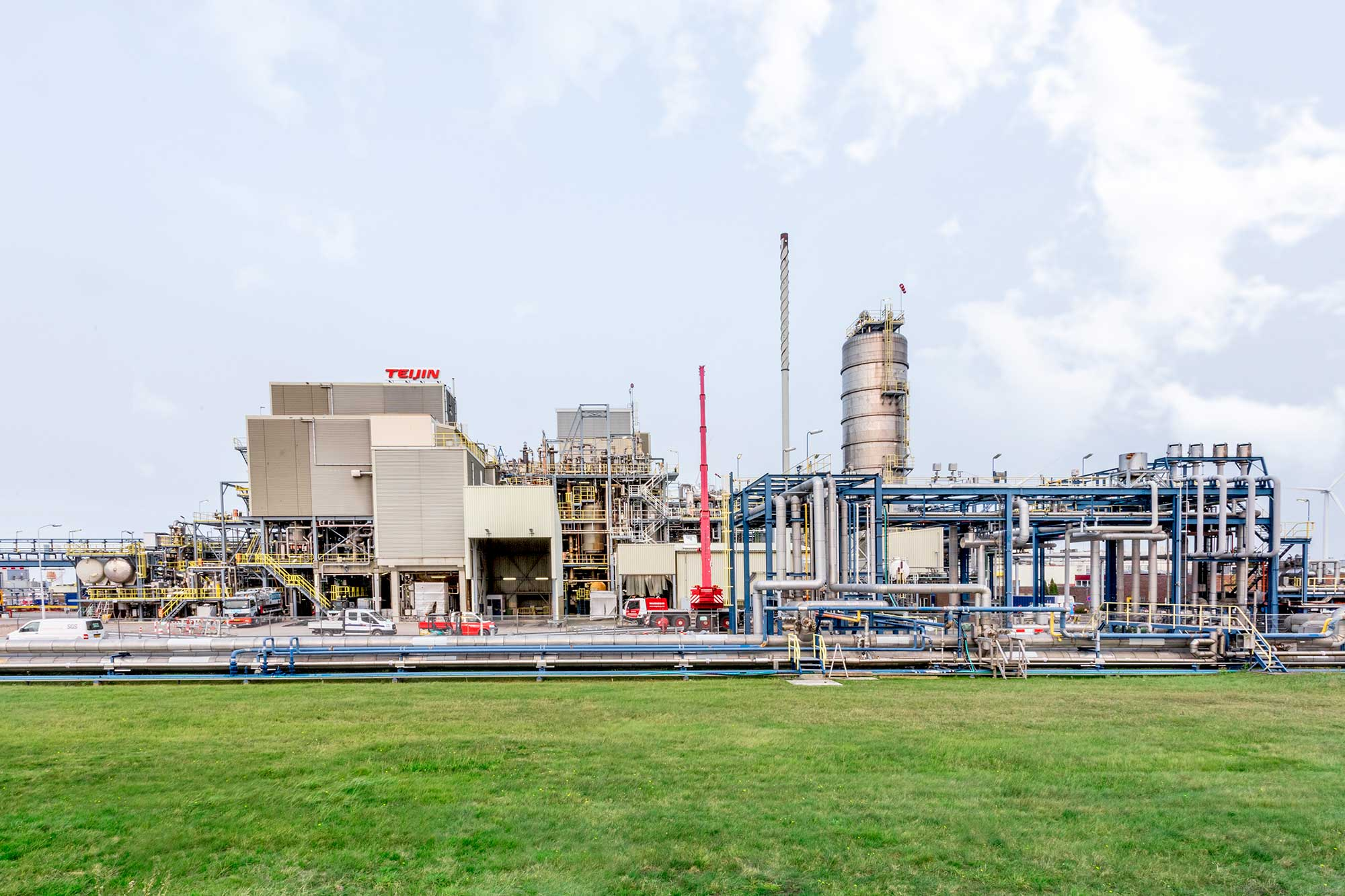 Teijin Aramid, Chemie Park Delfzijl